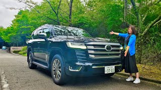 【Test Drive】2022 Toyota Land Cruiser 300 – LC300 Mountain Pass Drive Review